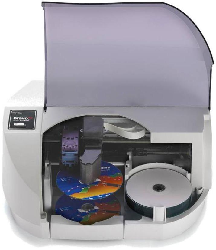 光ディスク記録・印刷<br>(Primeraディスクパブリッシャー)